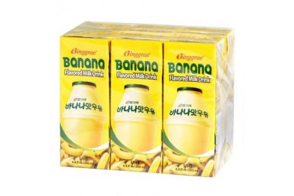Binggrae Banana Milk 200ml x 6pkt